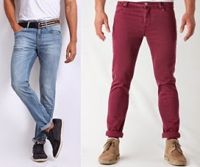 Flat 50% Off + Extra 30% Off  on Men's Jeans @ Myntra (Lee, John Players, Jack & Jones, UCB, Wills Lifestyle)