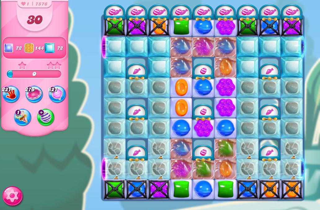 Candy Crush Saga level 7576