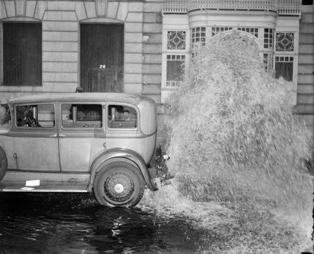 Vintage Photos Of Car Crashes Vintage Everyday