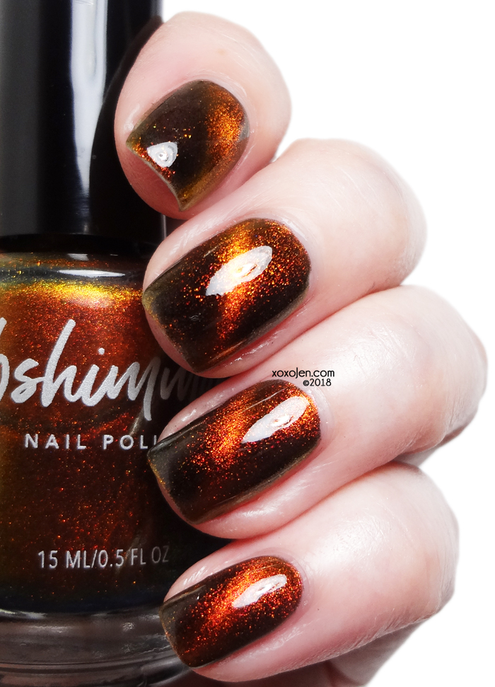 xoxoJen's swatch of KBShimmer Solar Flair
