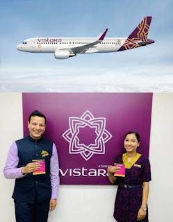 Sanitary Pad free for female passengers in Vistara Airlines