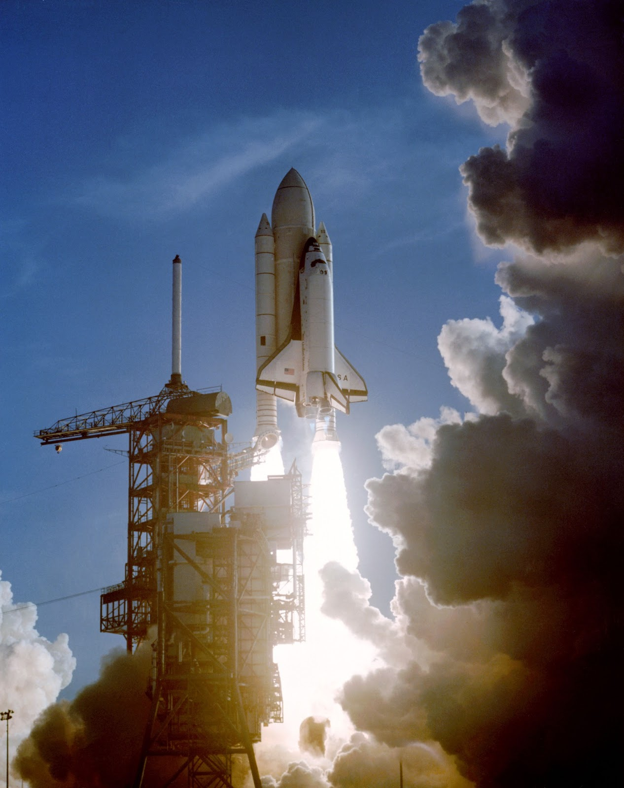 First Shuttle Launch | Earth Blog