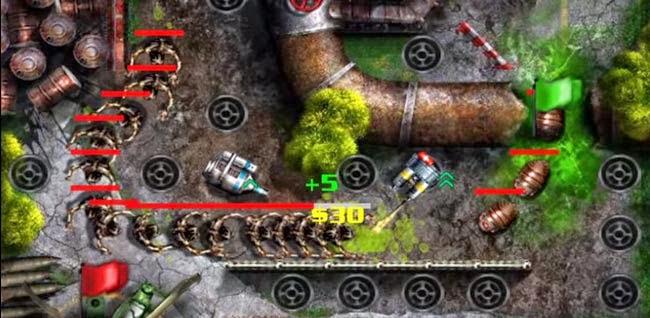 Jogo para Android GRave Defense HD Free