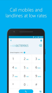 Skype Android Download call mobile and landline