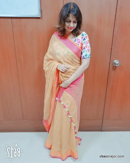 linen saree online