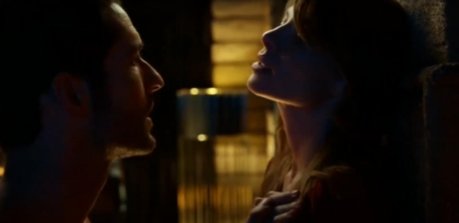 Скриншот сцены 18+ Люцифер и Хлоя