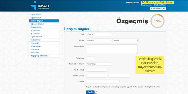 İŞKUR'a nasıl kayıt olunur ve Türkiye İŞ Kurumu ilanlarına nasıl başvurulur? Detaylar kariyeristanbul.net'te!