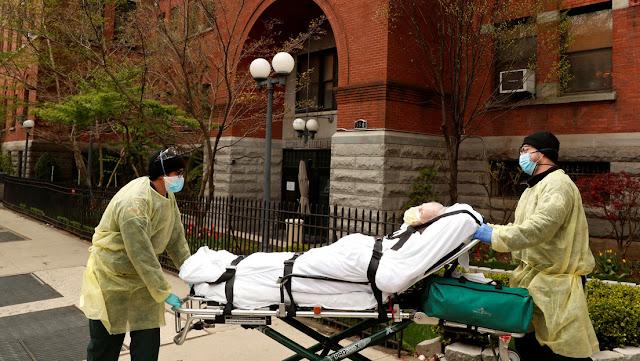 El estado de Nueva York registra 540 muertes por el coronavirus en un día