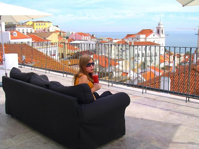 Lissabon på höstlovet