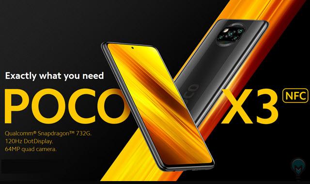 مواصفات وسعر موبايل بوكو اكس 3 Poco X3 NFC