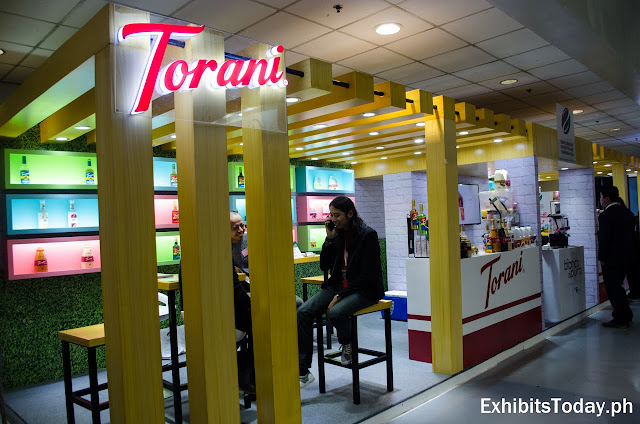 Torani Exhibit Booth