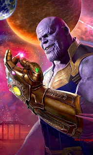 Papel de parede vingadores Thanos