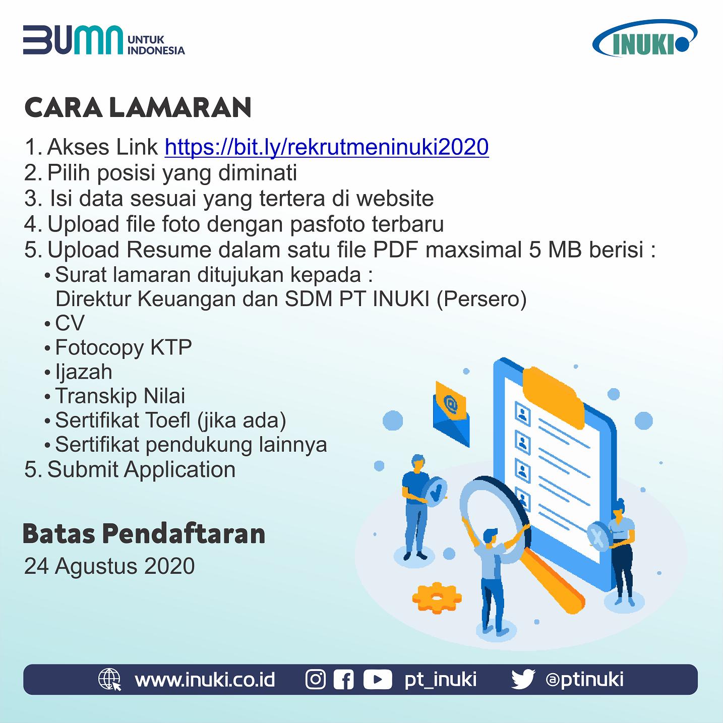 Lowongan Kerja BUMN PT Industri Nuklir Indonesia (Persero ...