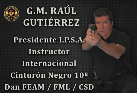 GRAN MAESTRO RAUL GUTIERREZ PRESIDENTE IPSA INTERNATIONAL POLICE AND SECURITY ASOCCIATION IPSA