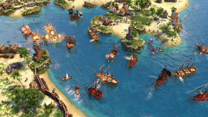 Age of Empires 3 Definitive Edition: world map