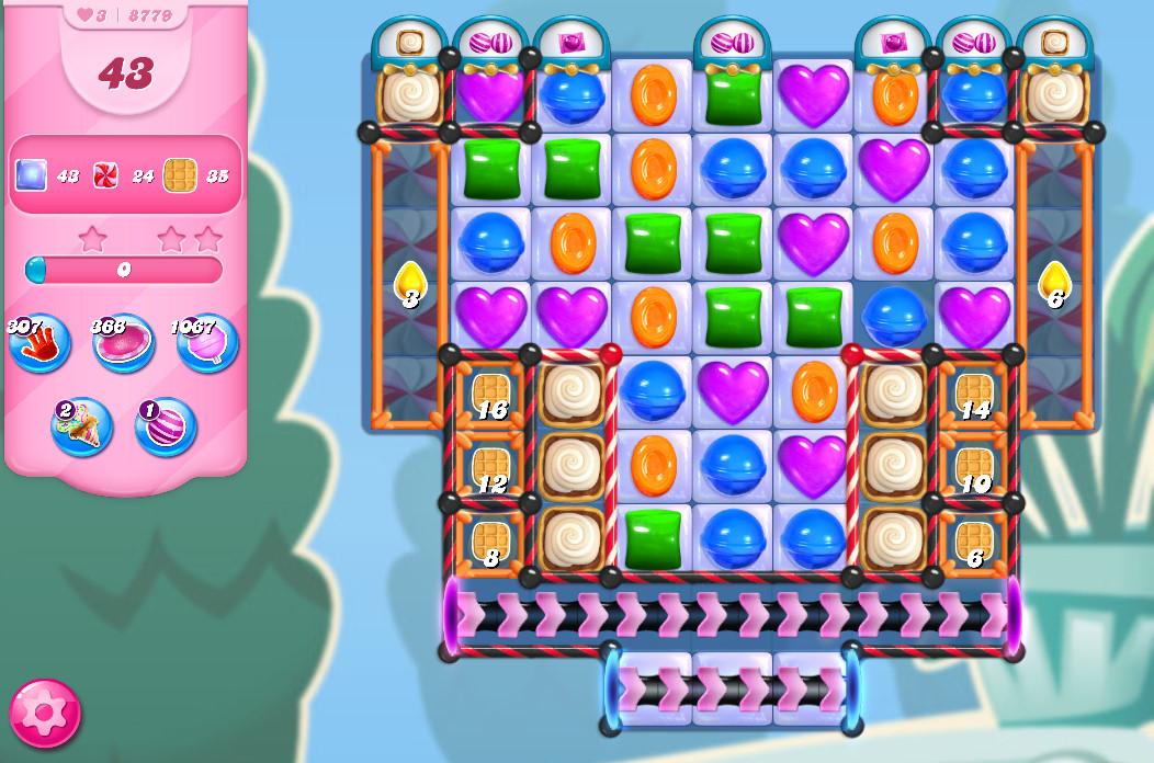 Candy Crush Saga level 8779