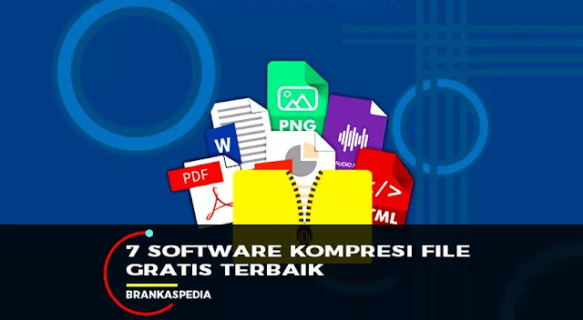 software kompresi file gratis terbaik