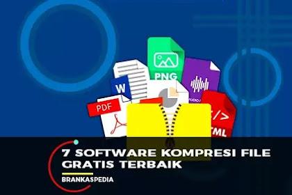 7 Software Kompresi File Gratis Terbaik