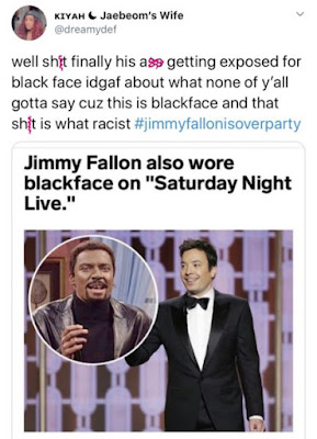 jimmy fallon saturfay night blackface