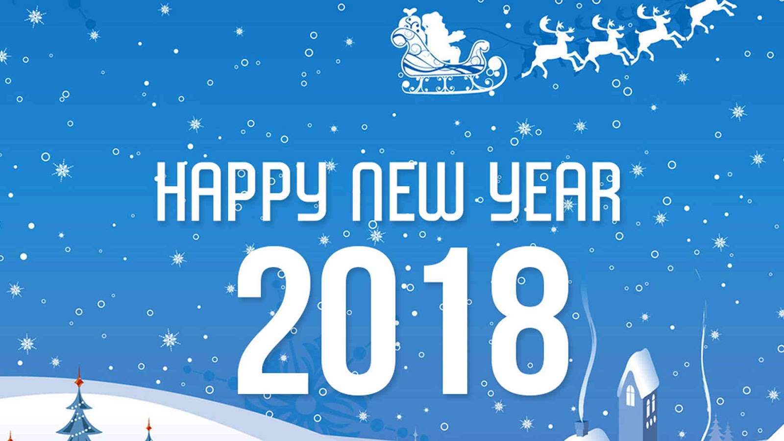 Happy New Year 2018 HD Wallpapers Download