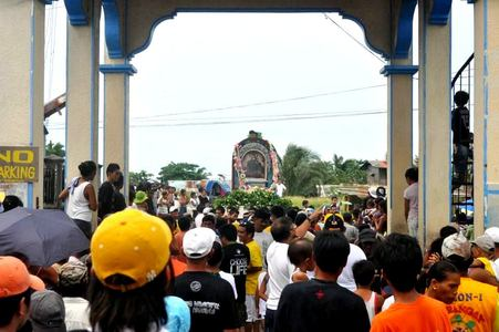 Fiesta of Reina de Caracol in Rosario, Cavite