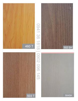 Màu gỗ mfc 101SH, 101T, 100T, D1, 503T, Vàng T hợp mạng kim