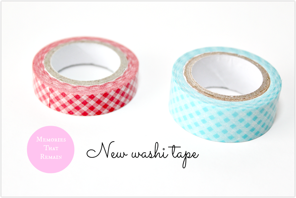 kratka na washi tape