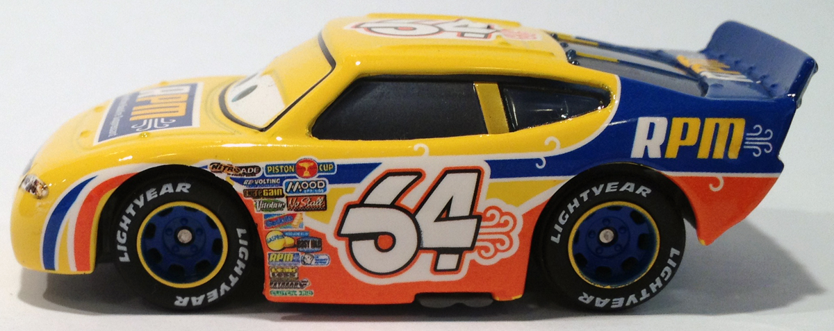 Cars Piston Cup Racers Number 80