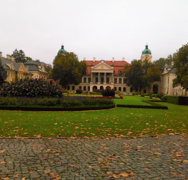 Pałac, Zamoyski, Kozłówka, Lubartów, front