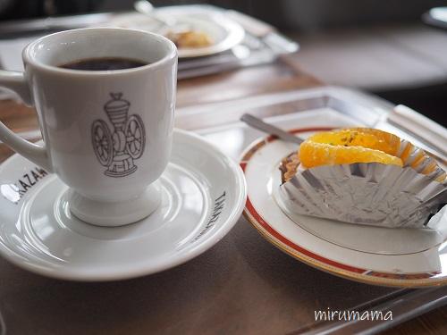 コーヒーと日替わりケーキ