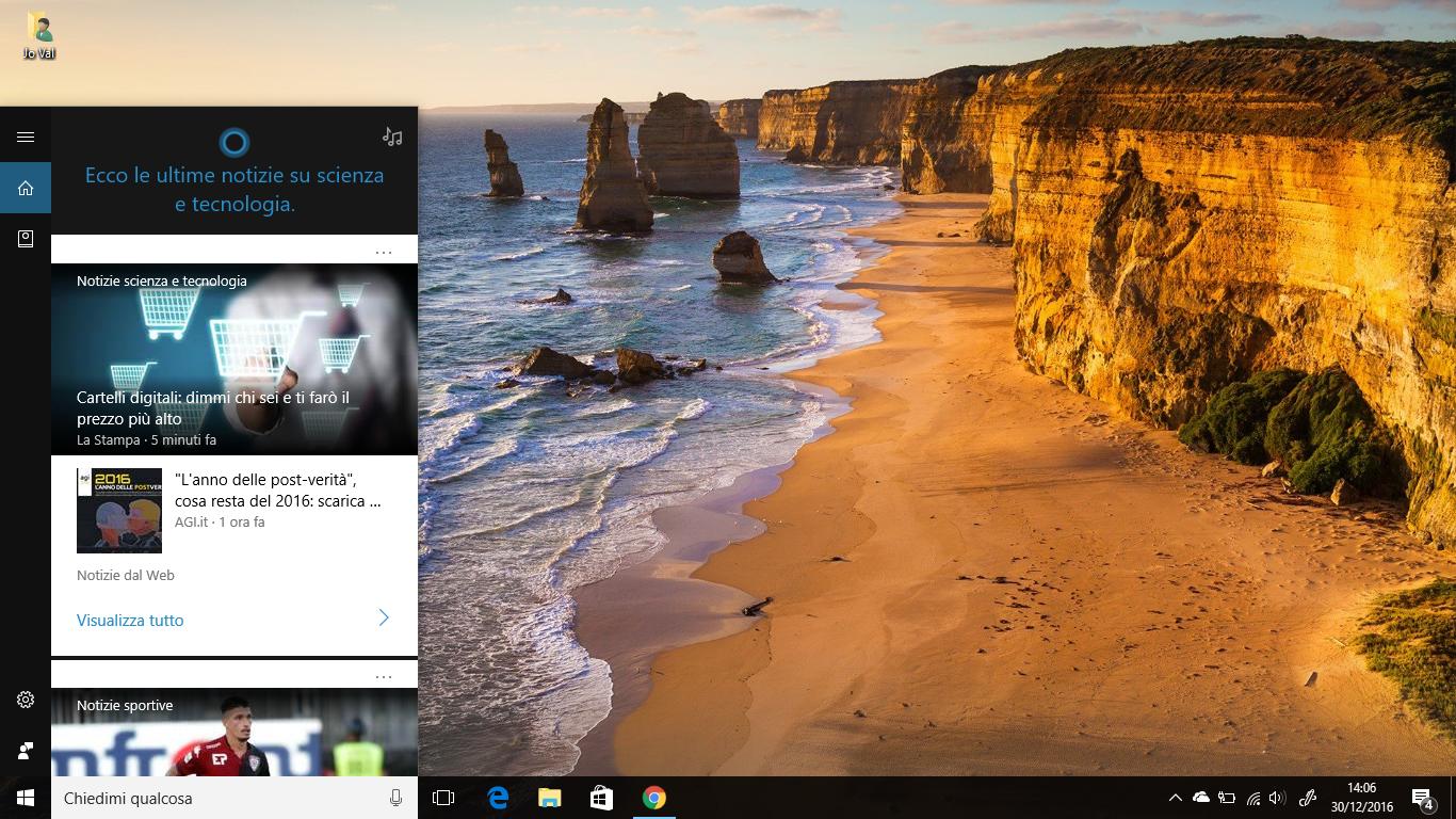 Le novità di Cortana in Windows 10 (sblocco PC da Smartphone + altro) e non solo HTNovo