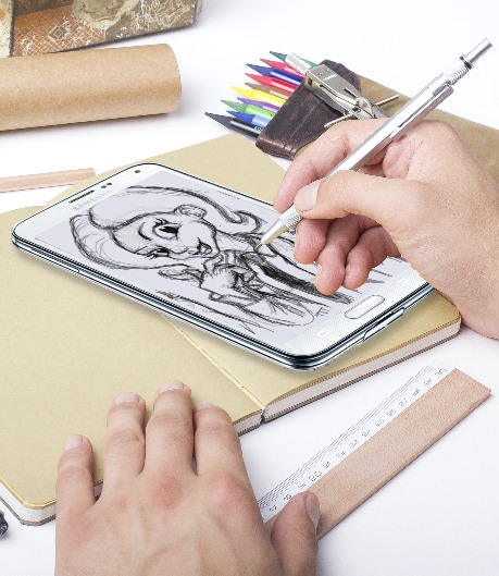 Use Your Mobile Phone As A Sketchbook
