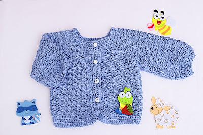 1 - Crochet Imagen Chaqueta a crochet con puntada de arroz muy fácil y sencillo por Majovel Crochet