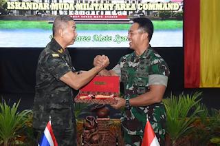 Kerja Sama TNI AD  - AD Thailand