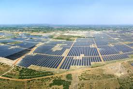 Kamuthi Solar Power Plant India