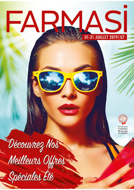 catalogue farmasi maroc juillet 2019