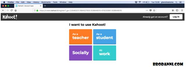 Tutorial Kahoot untuk Pembelajaran SD SMP SMA