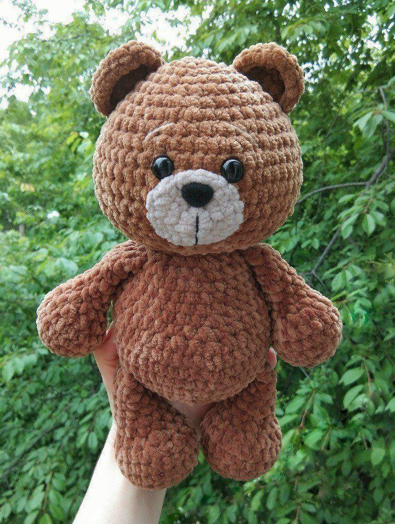 Amigurumi Crochet Teddy Bear Toys Free Patterns | 1030x777