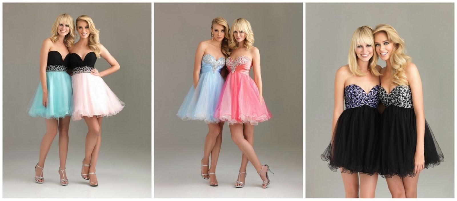 Imagenes de vestidos cortos para graduacion 2013
