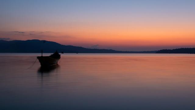 Sunset at Chidya tapu - Image by Aseem Kothiala