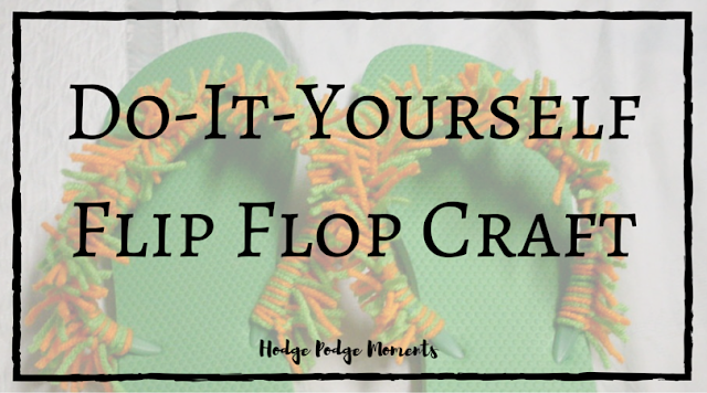 Do-It-Yourself Flip Flop Craft