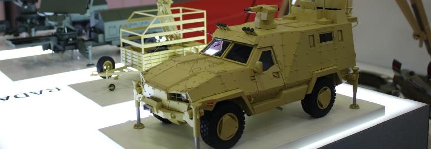 Розвідувальна машина Tayra на базі Дозор-Б
