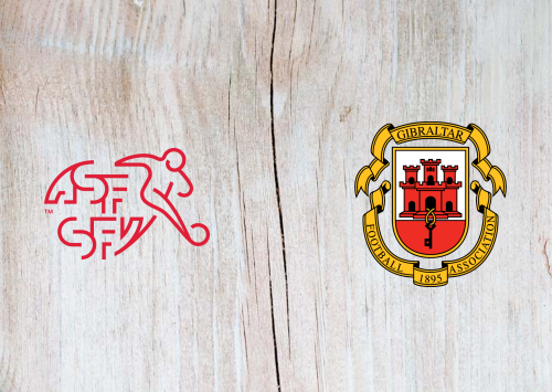 Switzerland vs Gibraltar -Highlights 8 September 2019