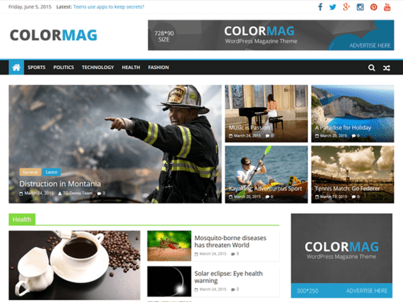 Color Mag Template