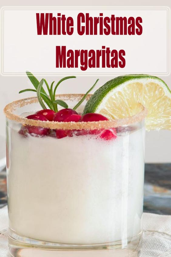 White Christmas Margaritas