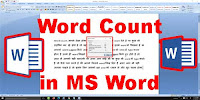 How To Word Count in Microsoft Word?