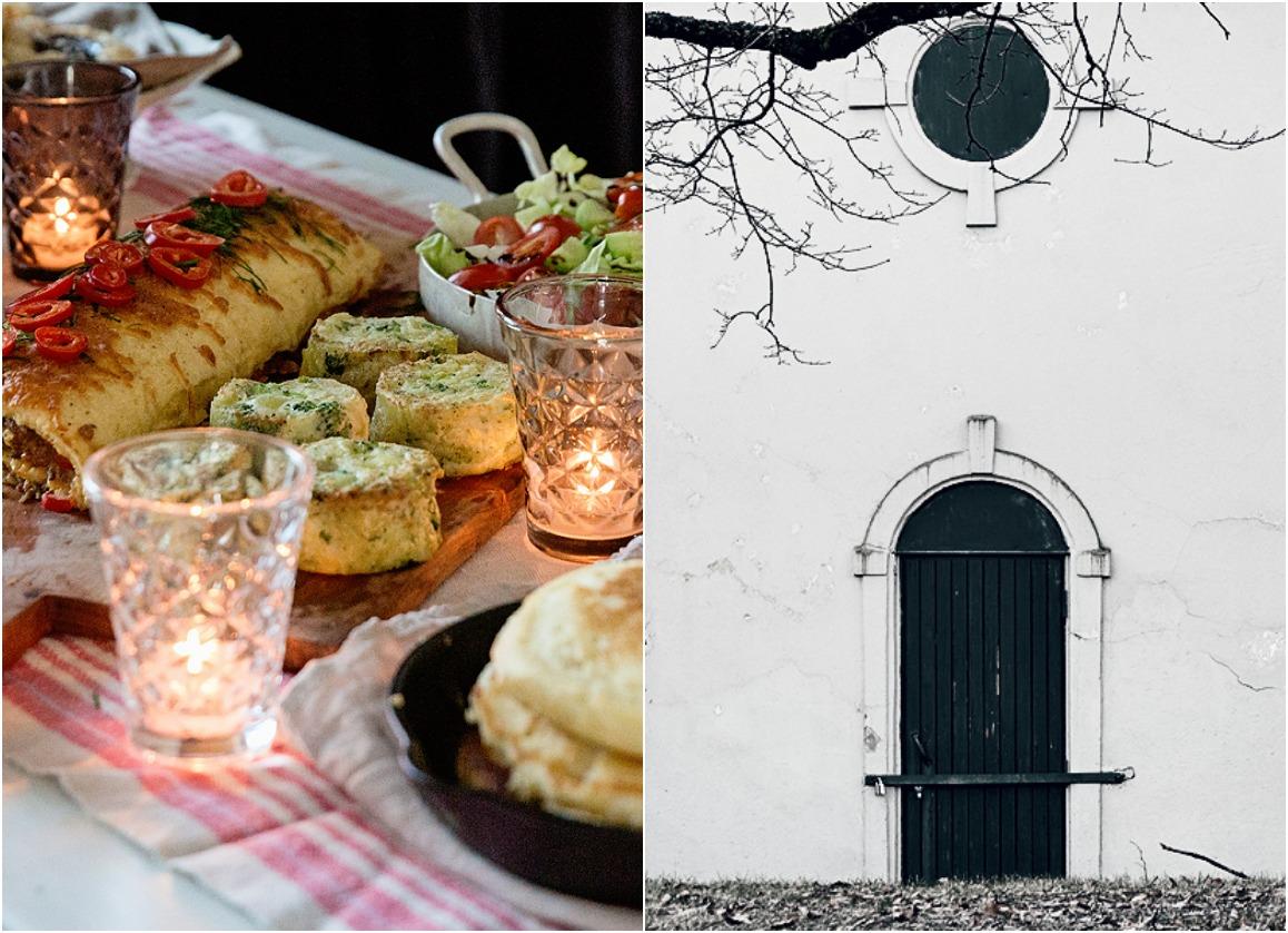 Brunssi, joulukuu, aamiainen, ruoka, munakasrulla, salaatti, resepti, joulutorttu, Kulosaari, Helsinki