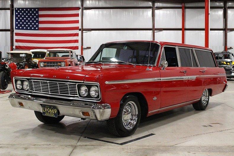 Daily Turismo: Family Style: 1965 Ford Fairlane 500 Custom