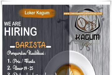 Lowongan Kerja Karyawan Barista Kagum Coffe Bandung