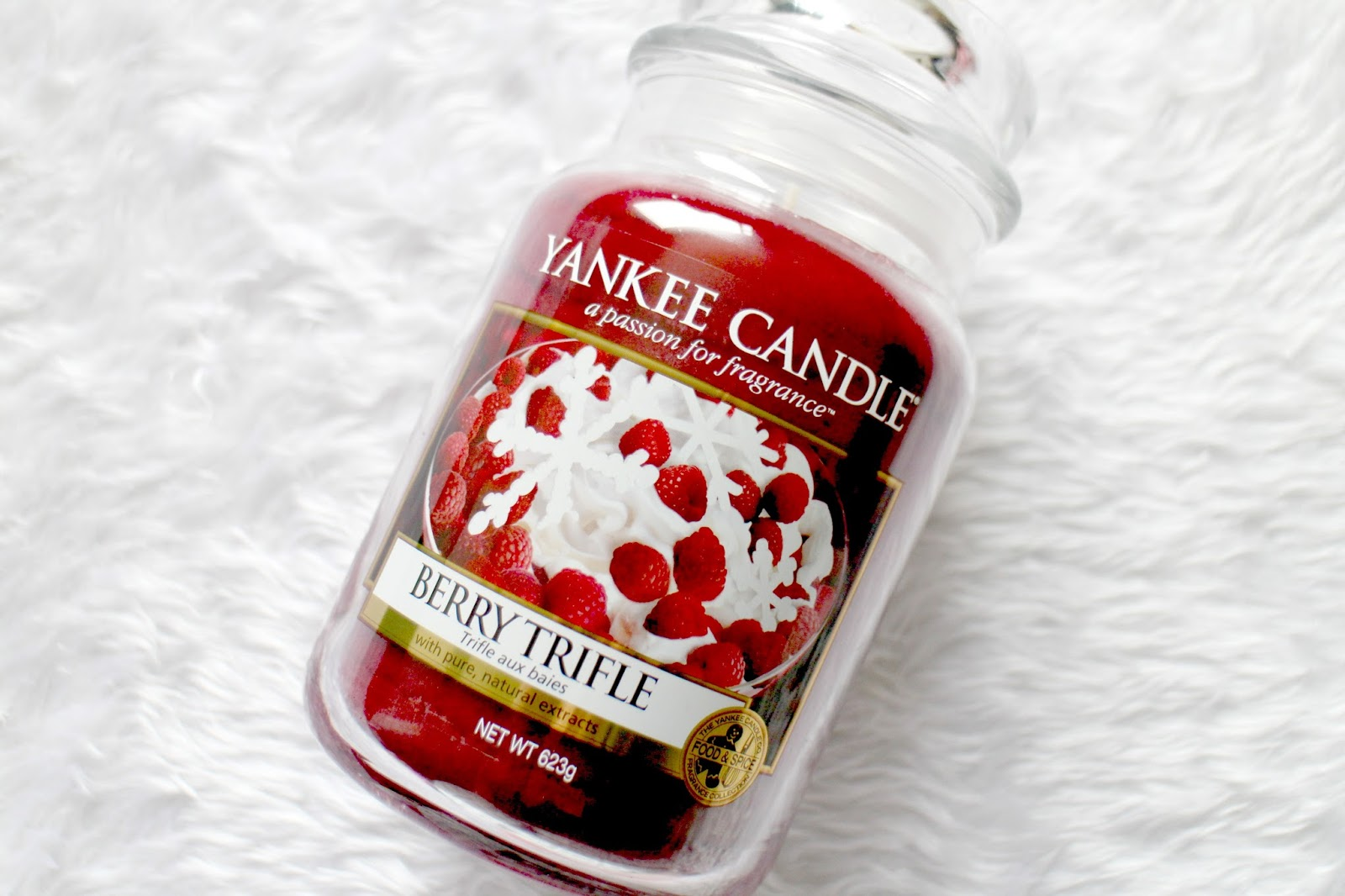 Yankee Candle Berry Trifle Large Jar Review